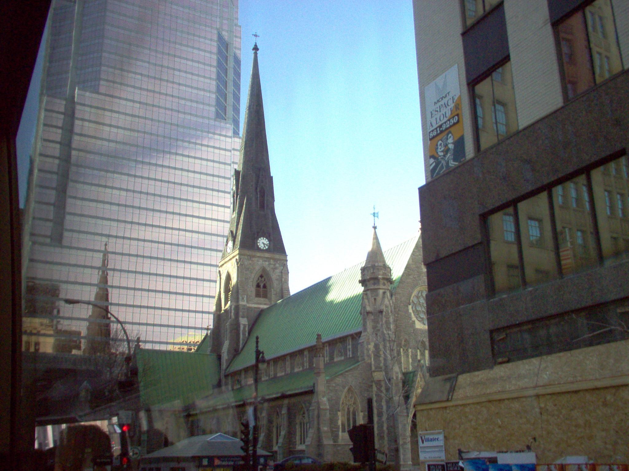 Montrealin keskustaa